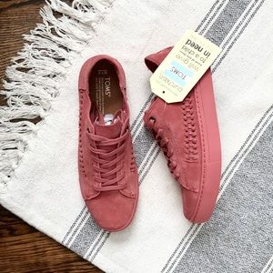 ▪️Toms▪️Pink Suede Sneakers